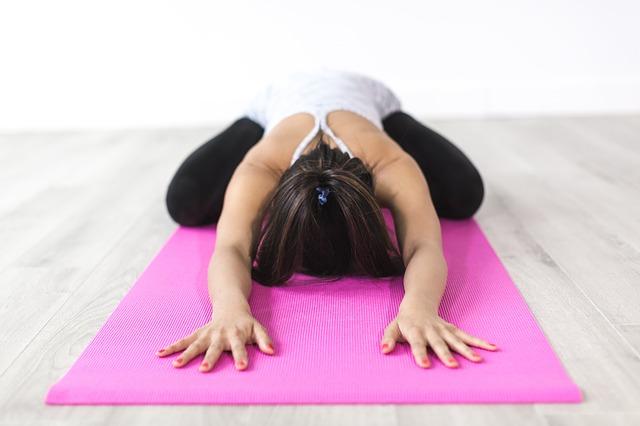 Crossed Leg Forward Bend yoga pose