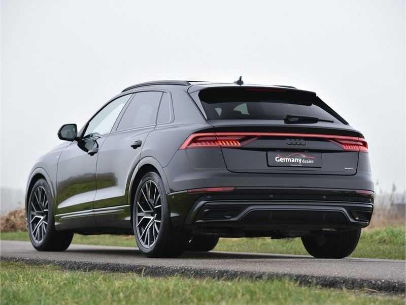 Audi Q8 50TDI 286pk Quattro S-Line Black Optic Lucht RS-zetels B&O High-end Alcant.Hemel TV Head-Up Standk ALLE OPTIES! afbeelding 9