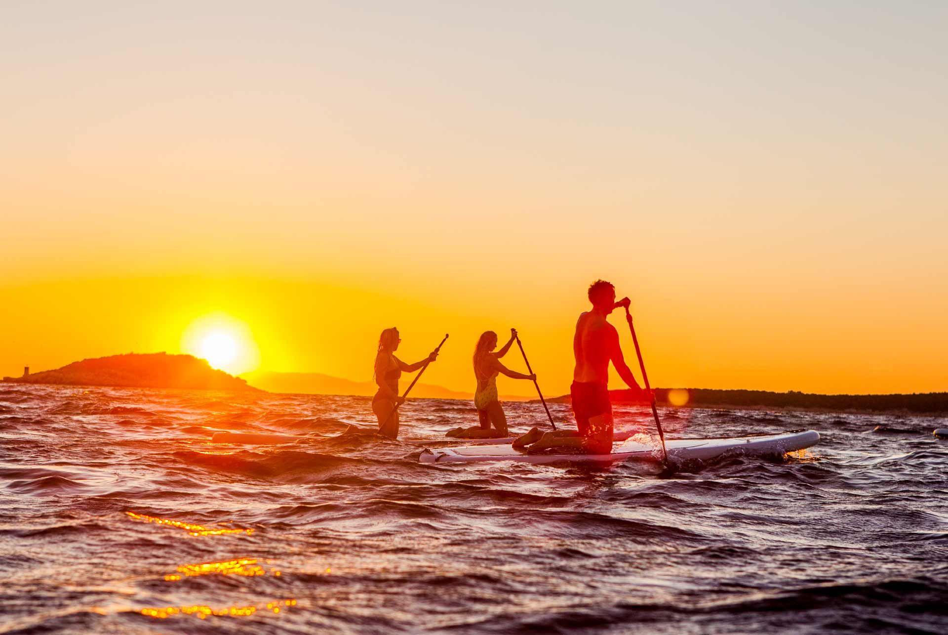 Paddleboarding Croatia