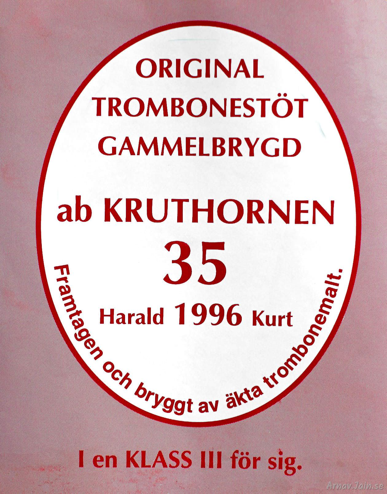 Affisch Kruthornen 35 år