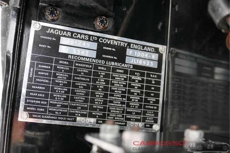 Jaguar XK120 3.4 FHC Matching Numbers afbeelding 13