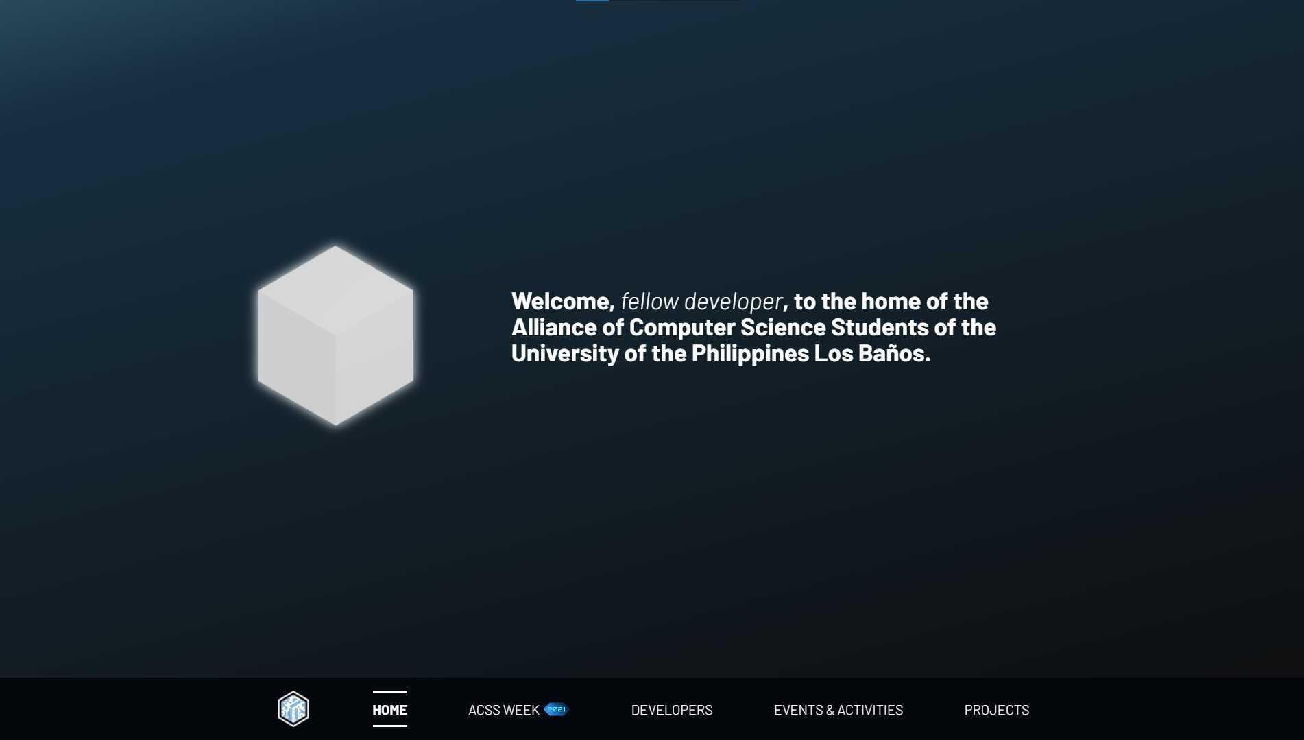 ACSS UPLB Website - Gallery Photo #2