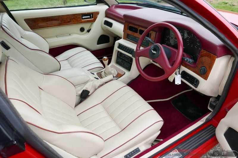Aston Martin Virage 5.3 V8 RHD 1 Of 411 afbeelding 16