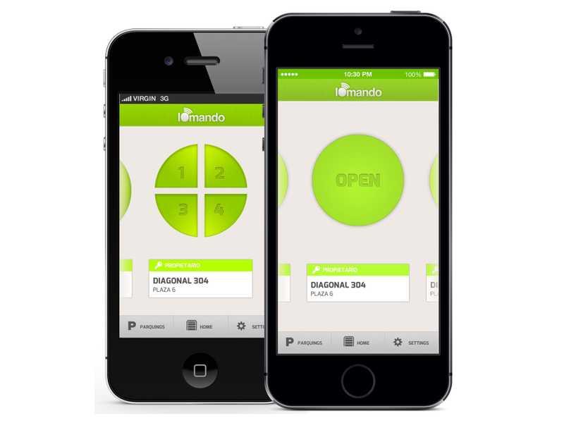iomando app 2.0 —four doors support