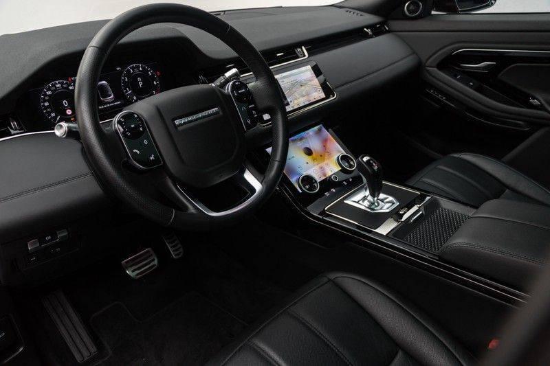 "Land Rover Range Rover Evoque P300 R-Dynamic 300pk AWD Black Pack Panoramadak ClearSightSpiegel MeridianSound Volleder AmbientLight Navi Keyless Full-Led DAB 20"" 360Camera Pdc afbeelding 19"