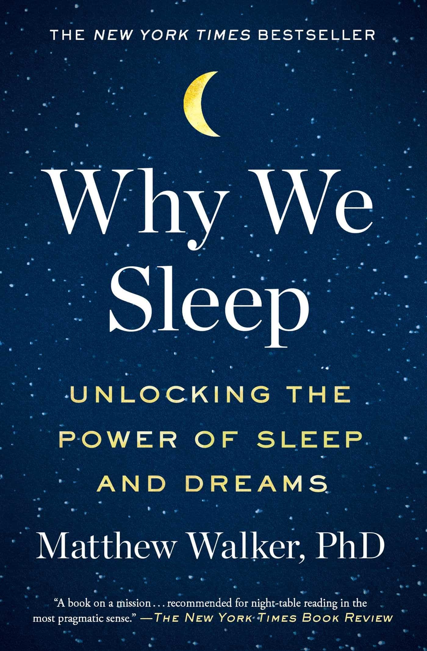 The cover of Why We Sleep