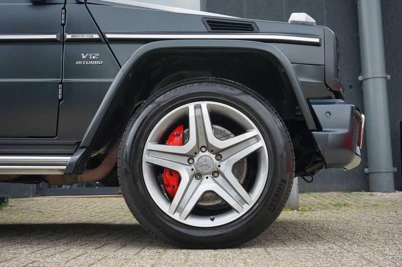 Mercedes-Benz G-Klasse 65 AMG DESIGNO MAGNO NIGHT BLACK afbeelding 11