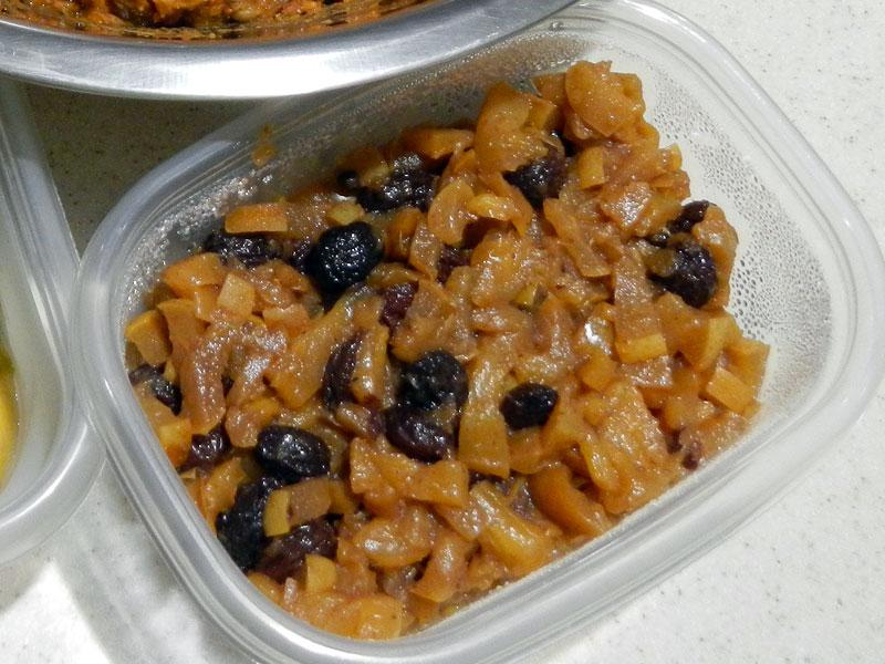 Prepared Sweet Tamale Filling