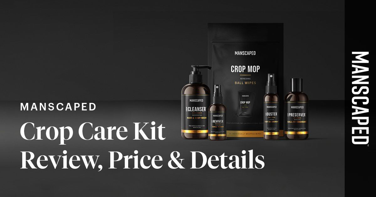 MANSCAPED Crop Care Kit Review, Price & Details