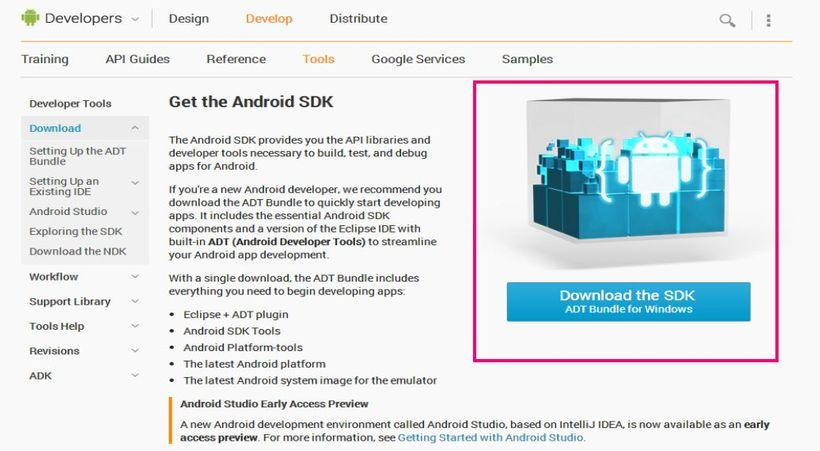 Download ADT Bundle