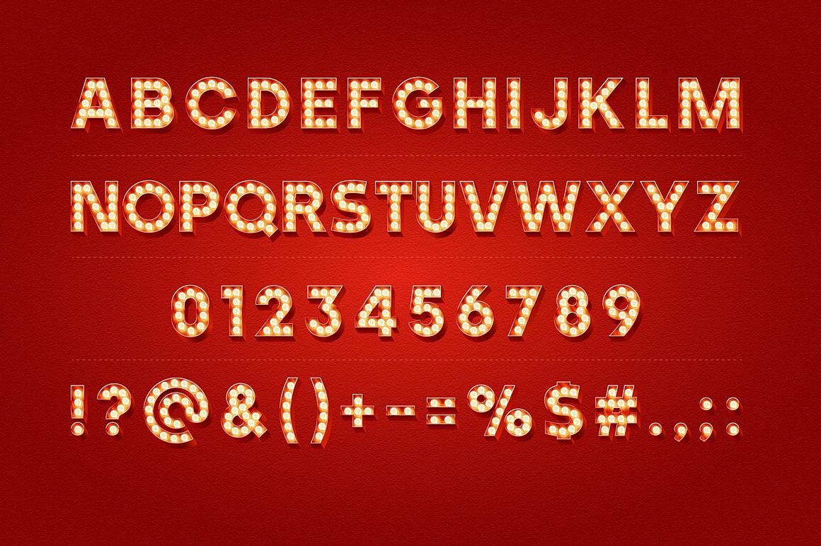 3d Lamp Classic images/promo-Old-bulp-lamp-alphabet-red_2.jpg