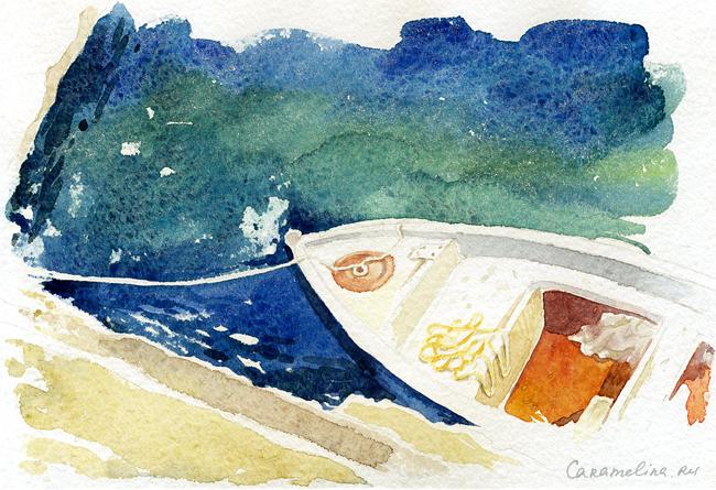 Море и лодки
