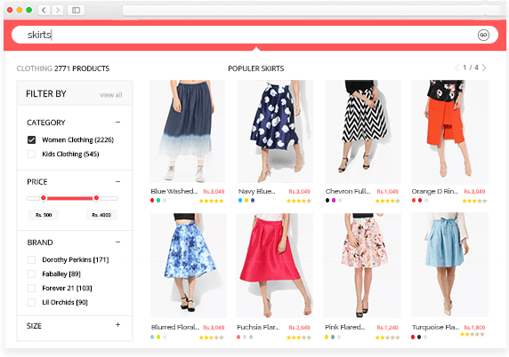 Instant Search Results Magento