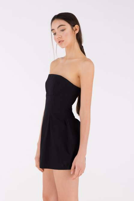Cupped Bustier Dress