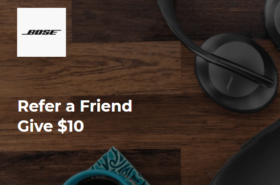 Bose referral program