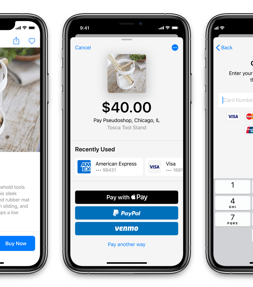 Braintree Drop-In Mobile Payment Interface