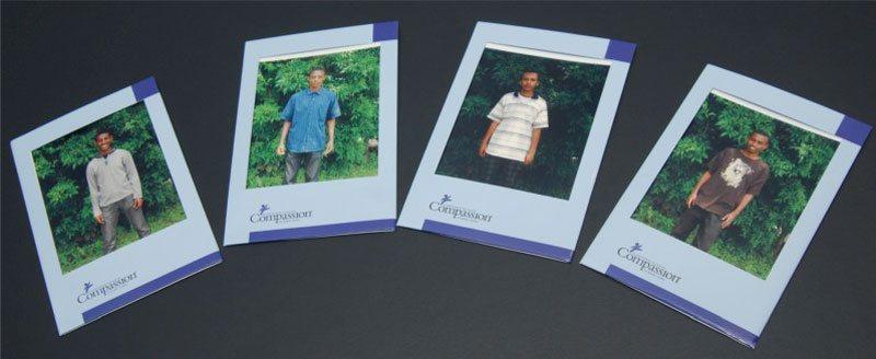 De 4 studenten die werden geholpen door ASML Foundation