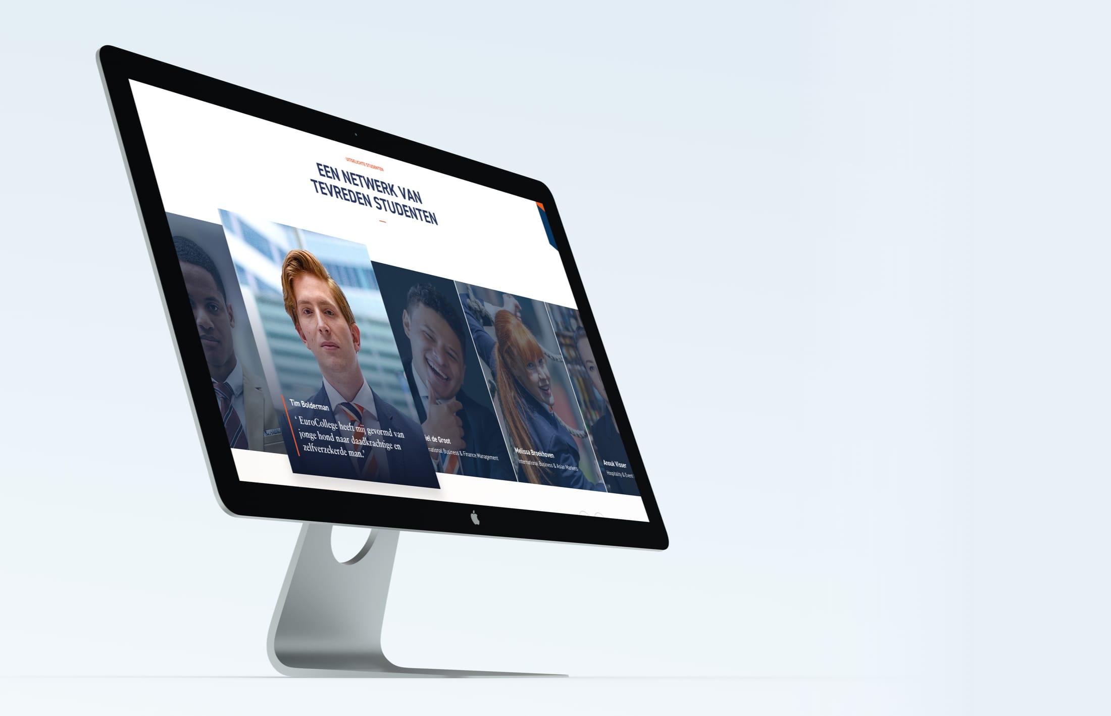 EuroCollege desktop
