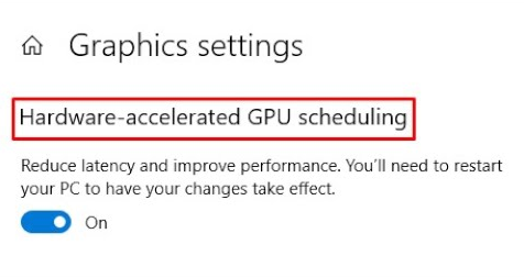 AMD adapting to the new Hardware-Accelerated GPU scheduling feature