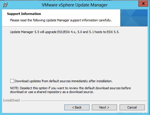 VMware vSphere Update Manager - Installation 3
