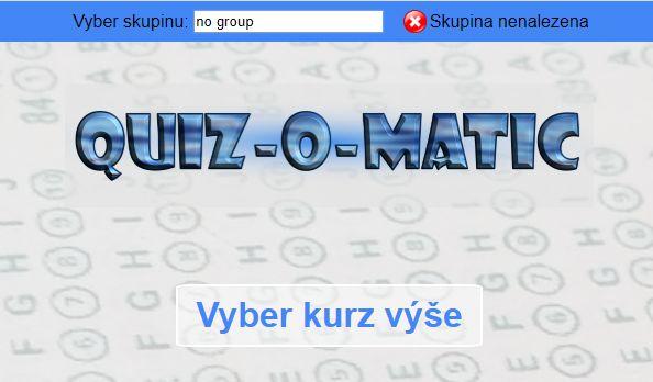 Quiz-O-Matic screenshot