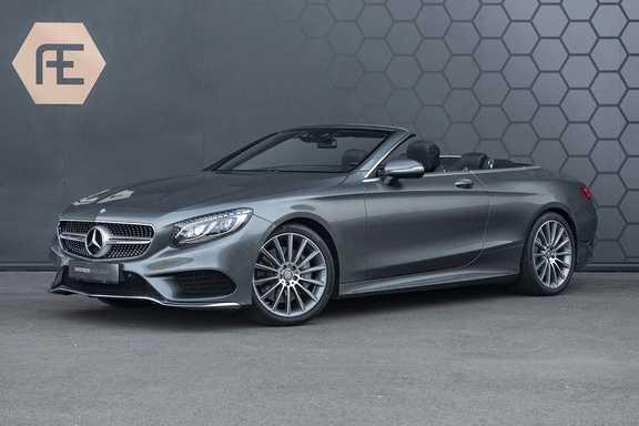Mercedes-Benz S-Klasse S500 Cabrio AMG Swarovski + Carbon + Burmester + AirScarf + Aircap + Nachtzicht + NP: 220K