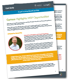 Gamma Highlights MSP Opportunities case study thumbnail