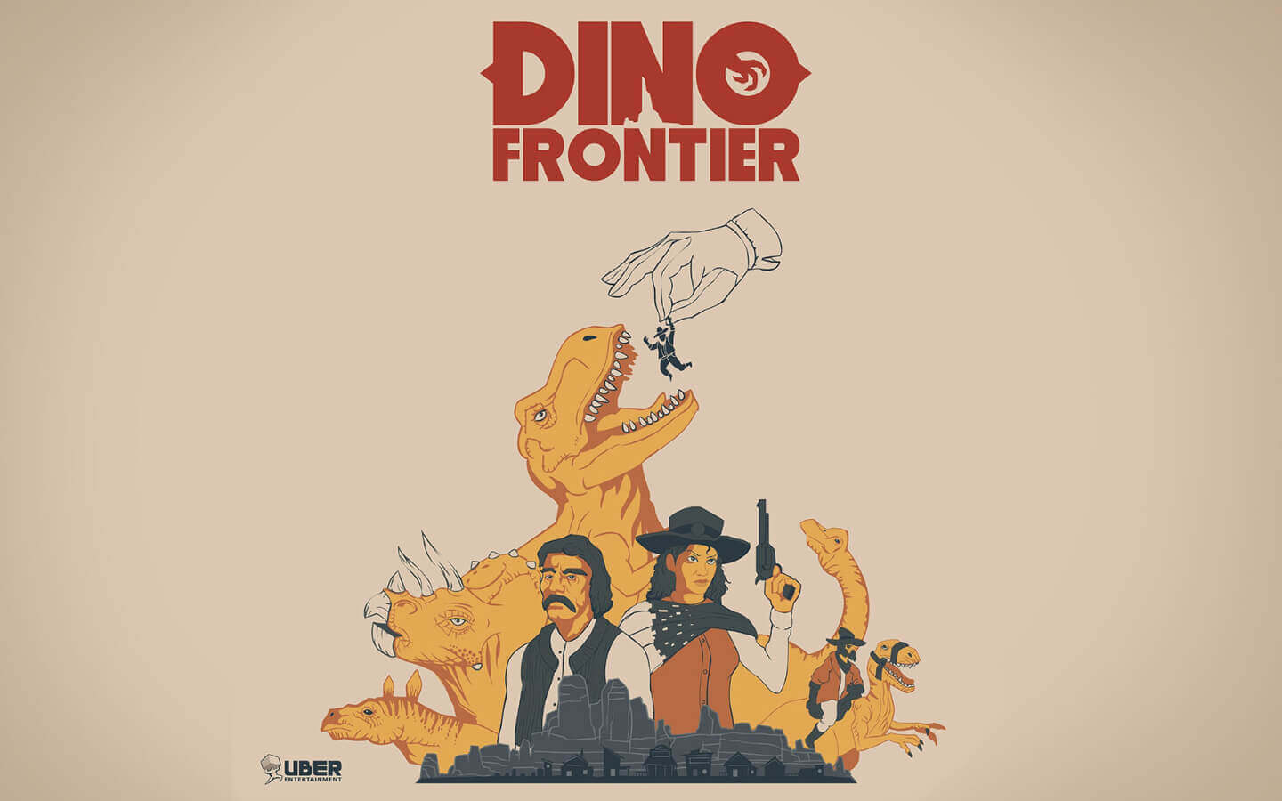Dino Frontier Cover Graphic
