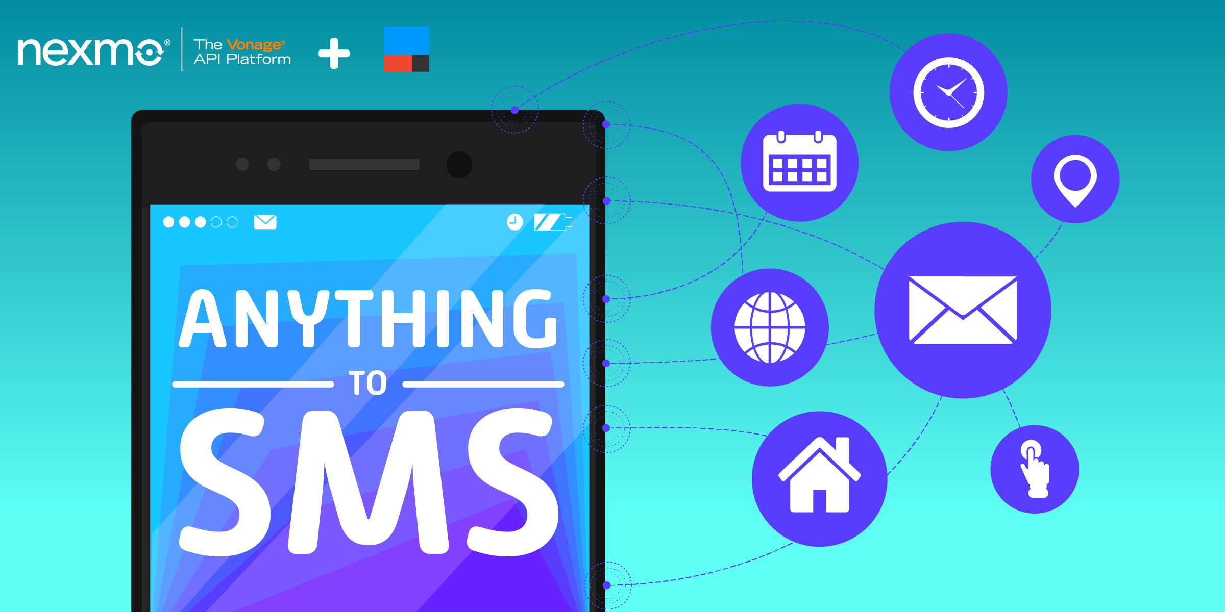 Anything-to-SMS with IFTTT and Nexmo