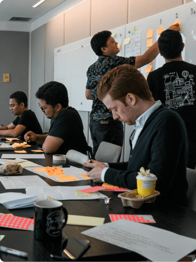 Using the design sprint to select best solution