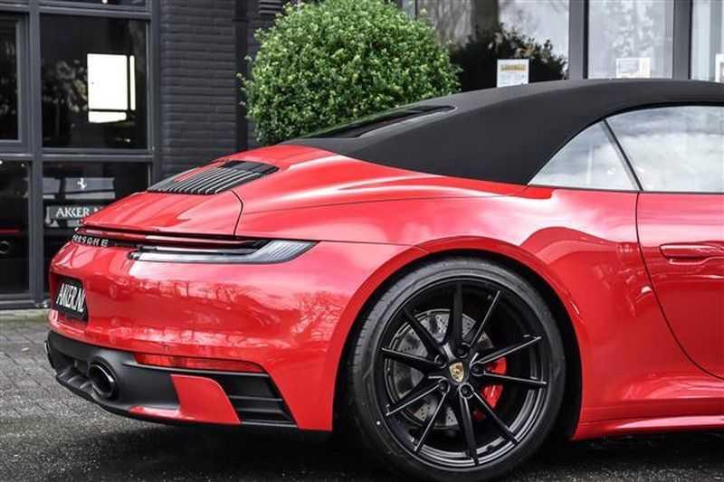 Porsche 911 4S CABRIO SPORTDESIGN+4WSTURING+SPORTCHRONO afbeelding 24