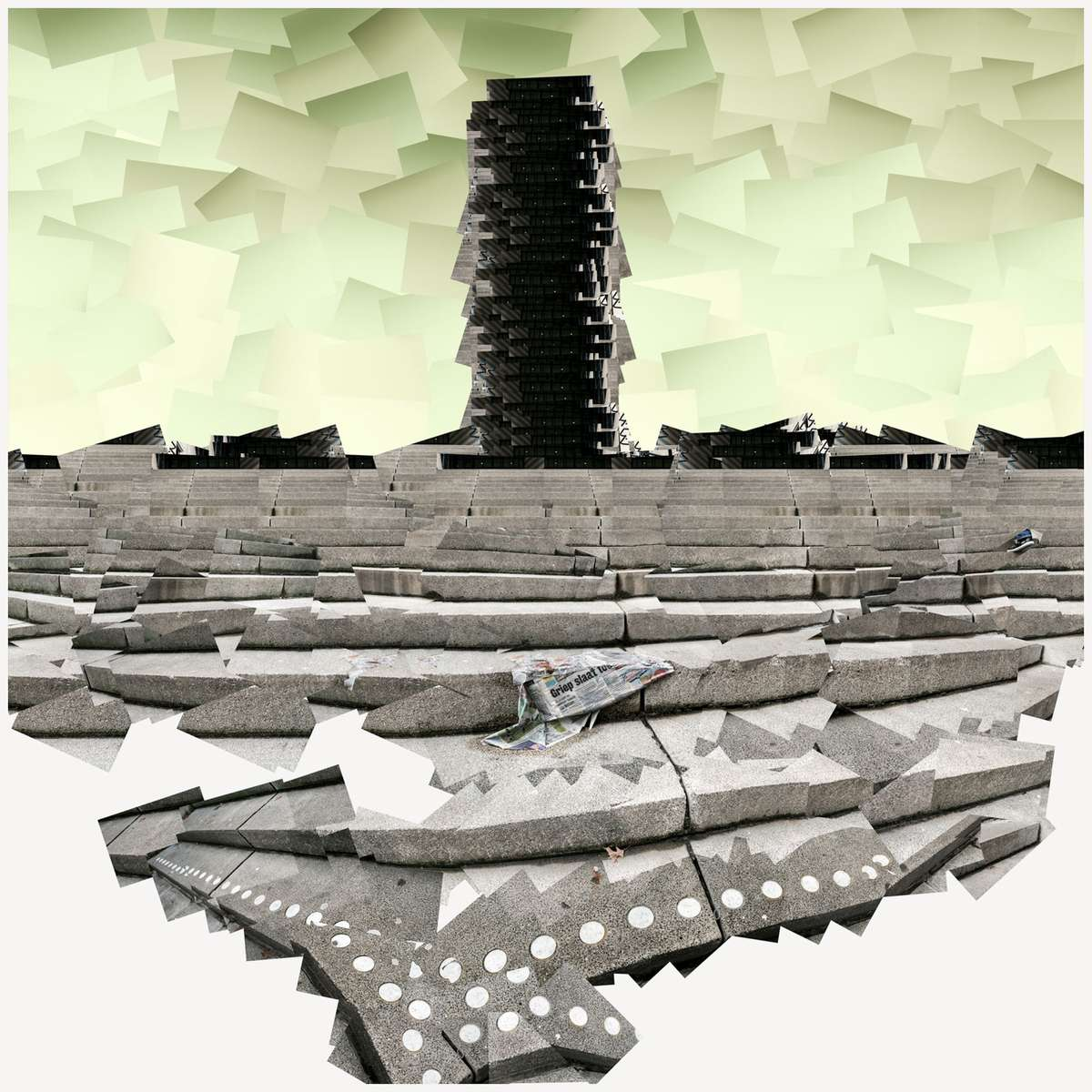 Monument, 2013, pigment print, 85 x 85 cm (33.46 x 33.46 in), edition of 6 + 1 AP