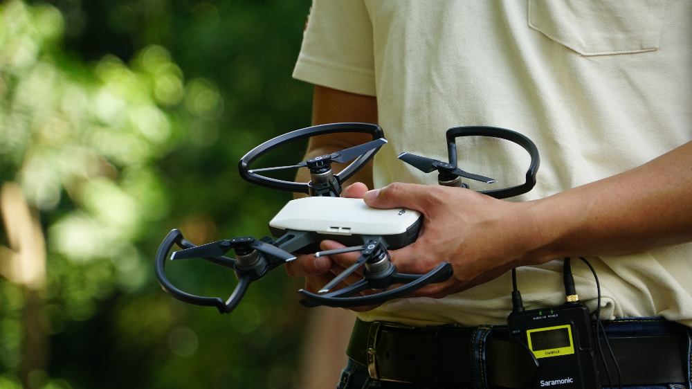 Drones - How tech is changing the way Singapore manages parks and gardens
