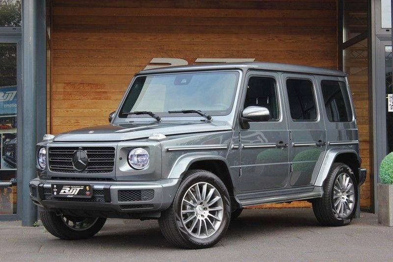 Mercedes-Benz G-Klasse 500 4.0 V8 422pk **360/Distronic/Schuifdak/Trekhaak/DAB** afbeelding 1
