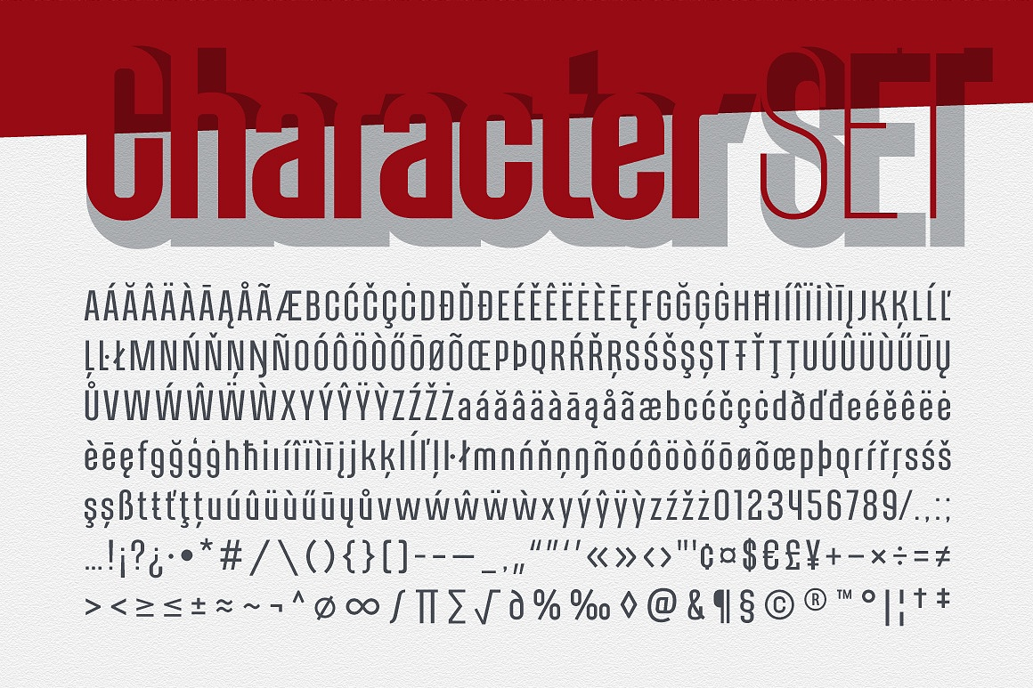 Alterhard Condensed Strict Font images/promo_alterhard_5.jpg