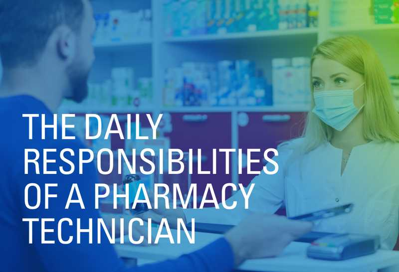 What's It Like to Work as a Pharmacist Technician