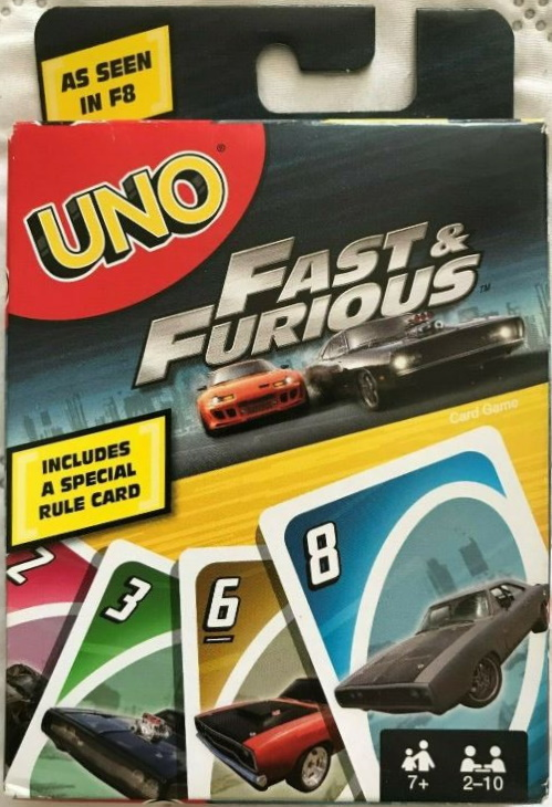 Fast & Furious Uno