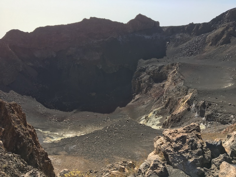Pico do Fogo main crater