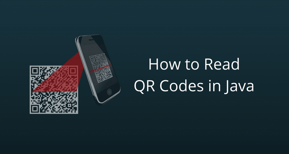 Write a QR Code Reader in Java using Zxing