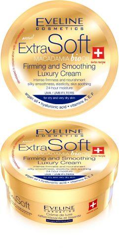 EVELINE ExtraSoft Macadamia bőrfeszesítő krém 200 ml