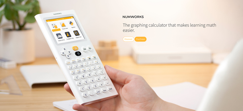 The Numworks graphing calculator
