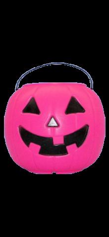 Pink Pumpkin Pail photo