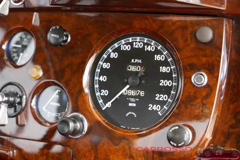 Jaguar XK 140 3.4 SE FHC / Nr. 28 of 8937 ! / Getrag gearbox afbeelding 6