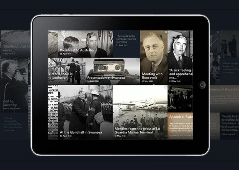 Menzies by Howard detail on iPad