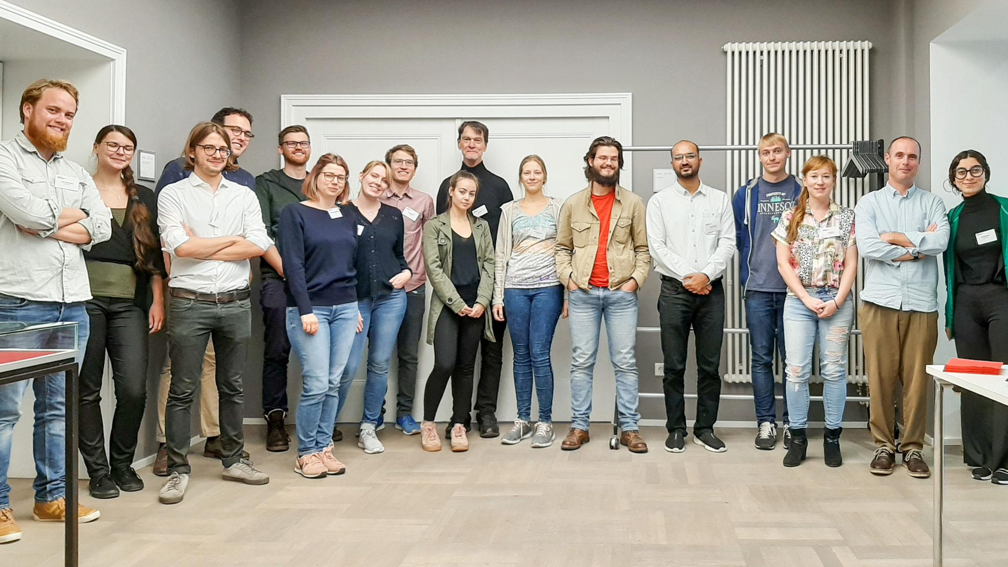 Group photo of the workshop's participants