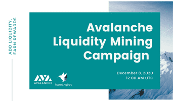 Launching Ava Labs's Avalanche liquidity mining campaign