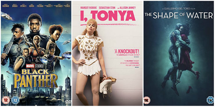 Black Panther, I, Tonya, The Shape of Water