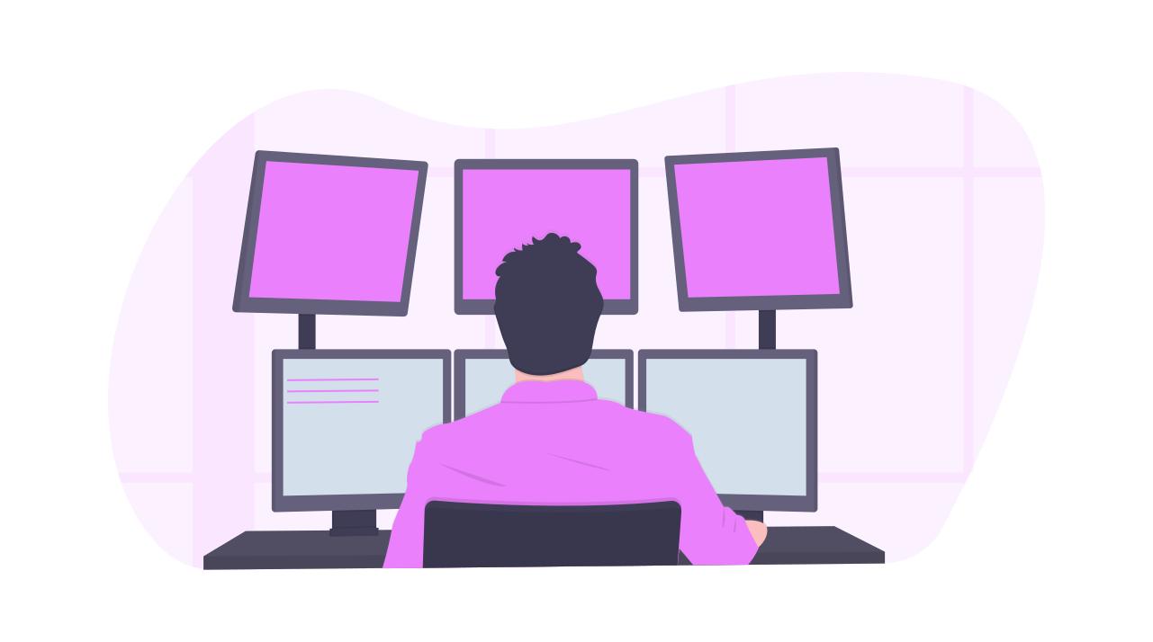 image - programmer at work