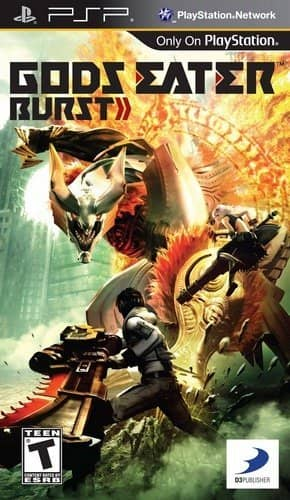 Coverart image of Gods Eater Burst psp
