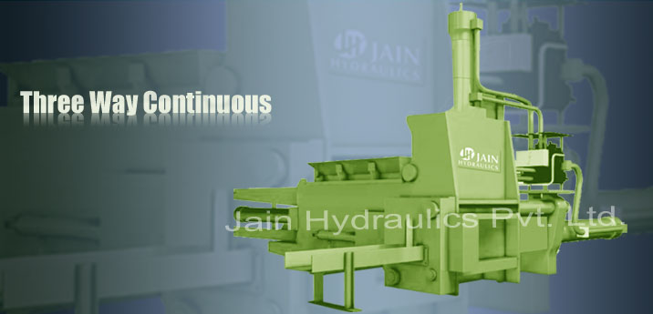 Scrap Baling Press, Scrap baling machine manufacturer India